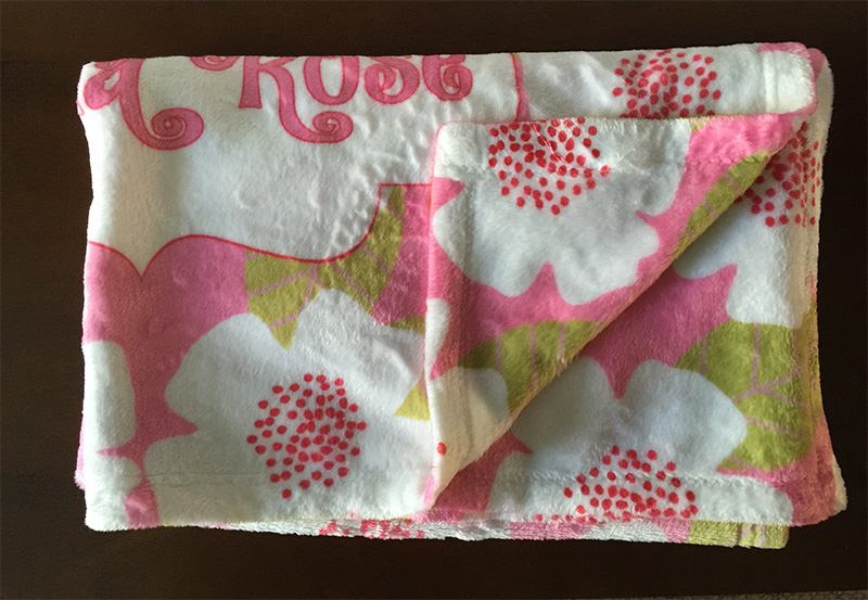 Kids soft minky blanket