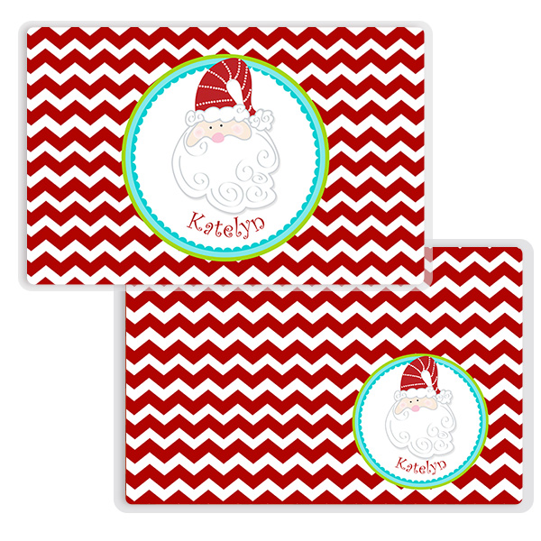 Monster Placemat Christmas Kids Personalized Placemat