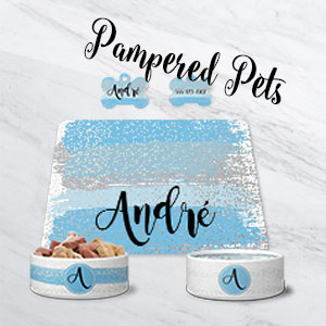 Personalized Products for the pampered pet!