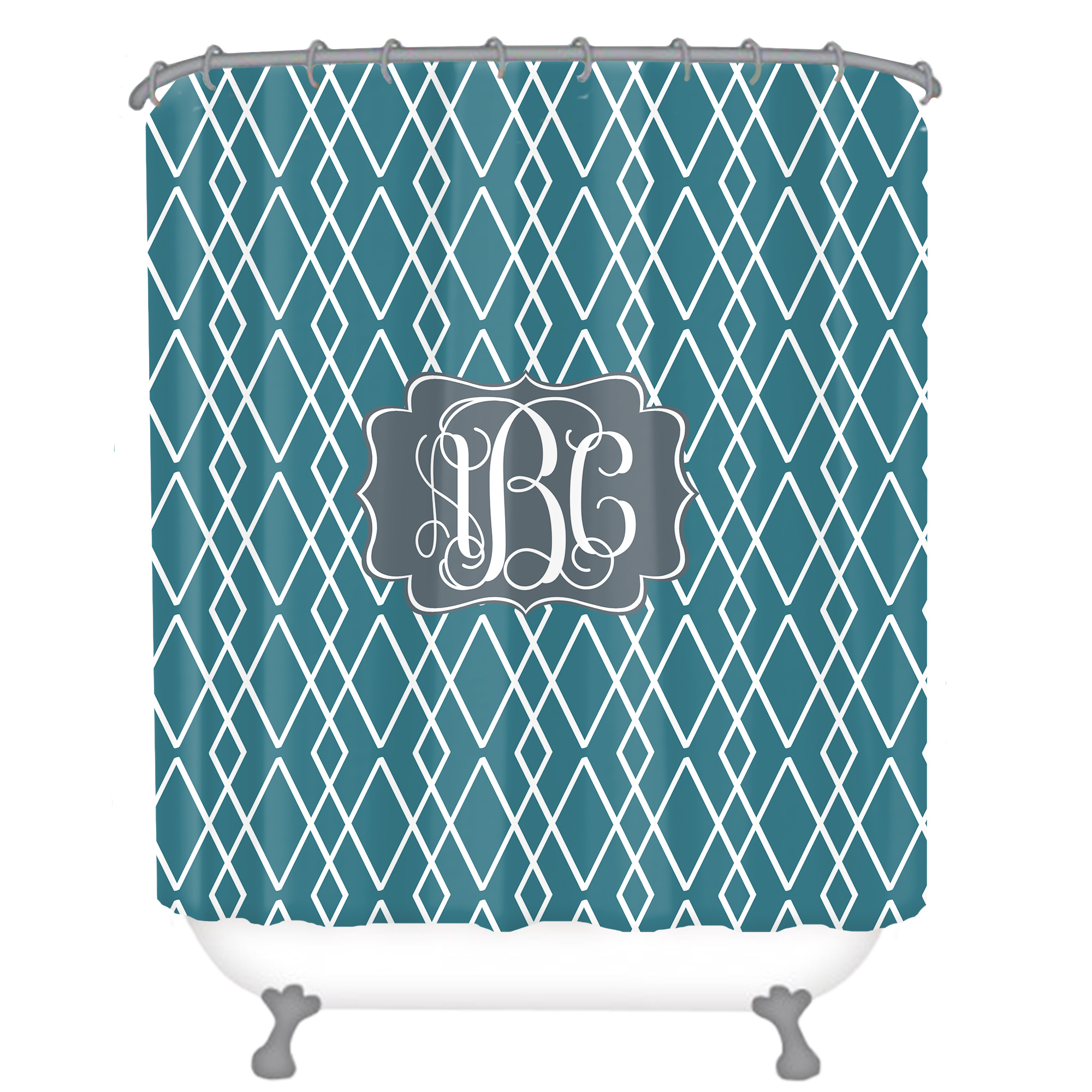 personalized shower curtain monogrammed shower curtain