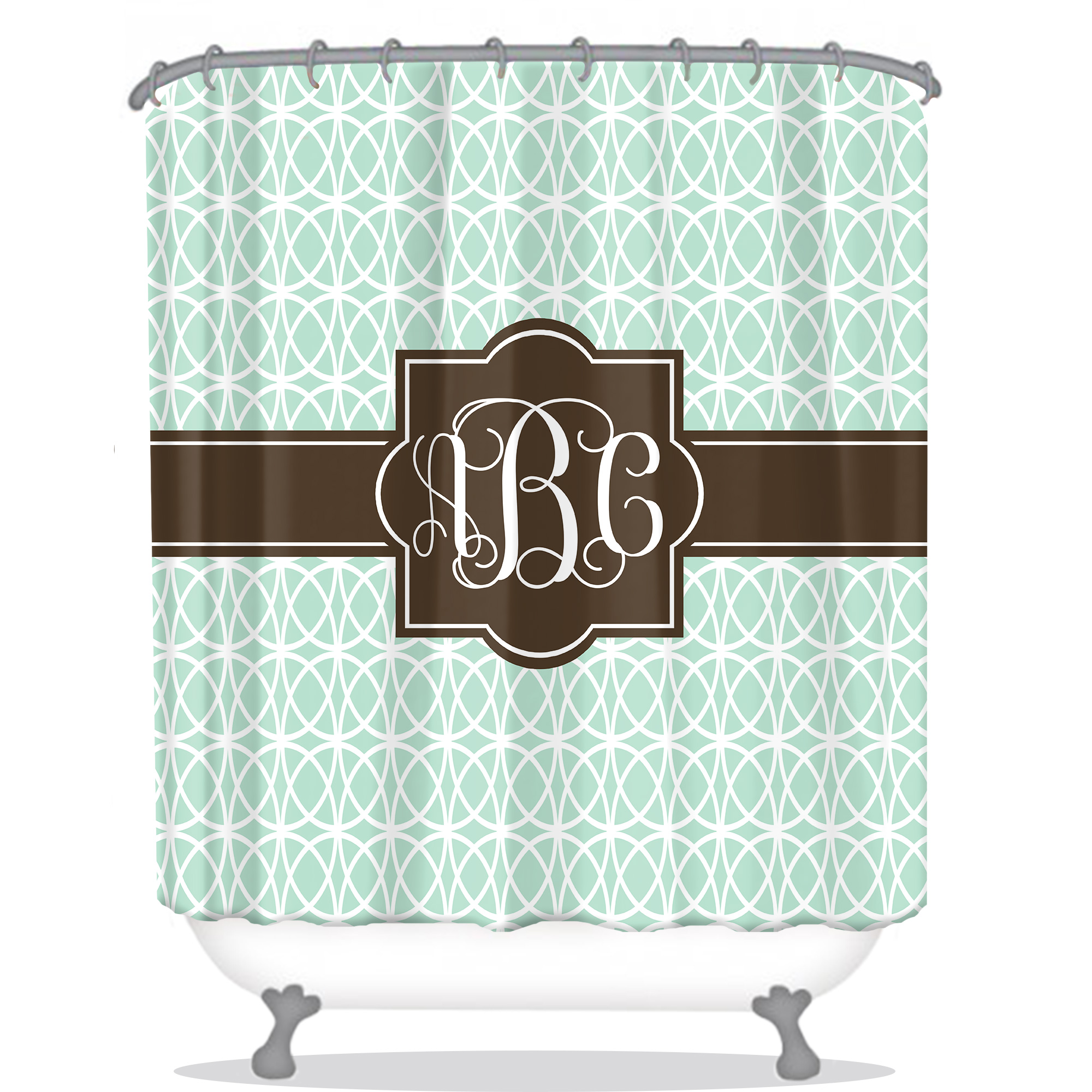 Personalized Shower Curtain
