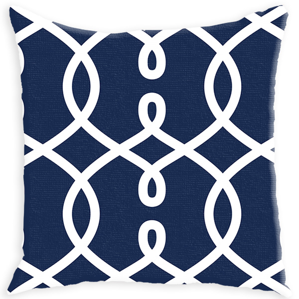 Throw Pillows Moroccan : Navy Shower Curtain Modern Personalized Shower Curtain Monogrammed Shower Curtain Custom ...