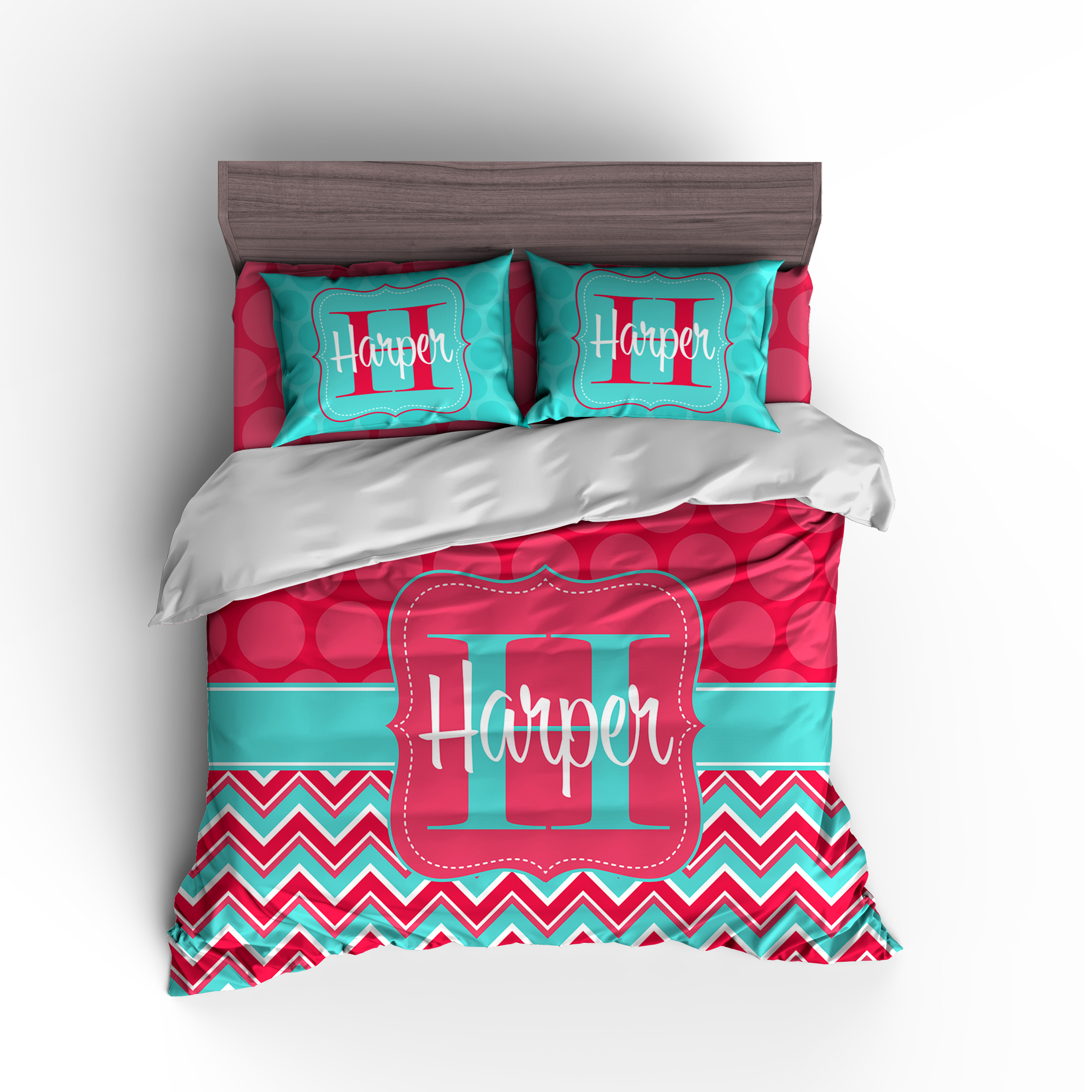 personalized duvet set