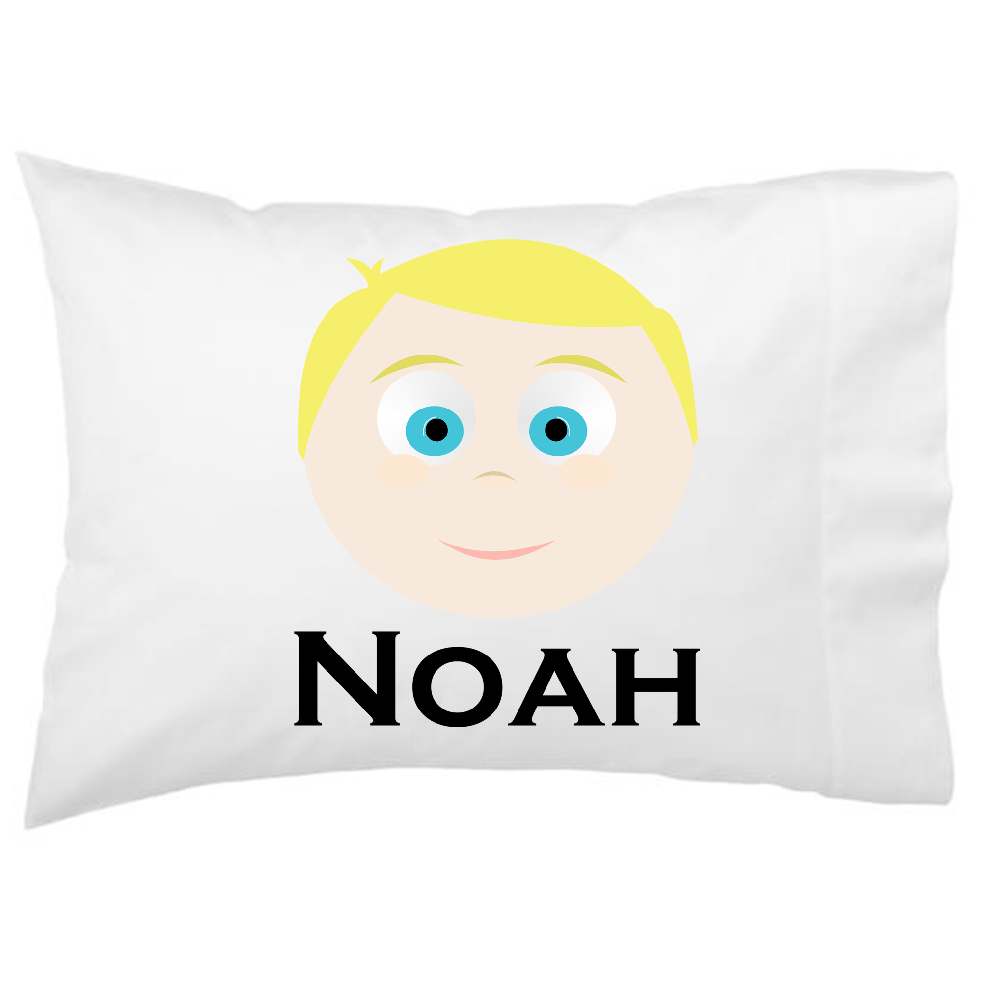 Personalized Girls Little Me Boys Pillowcase - Design Your Own Face Pillowcase