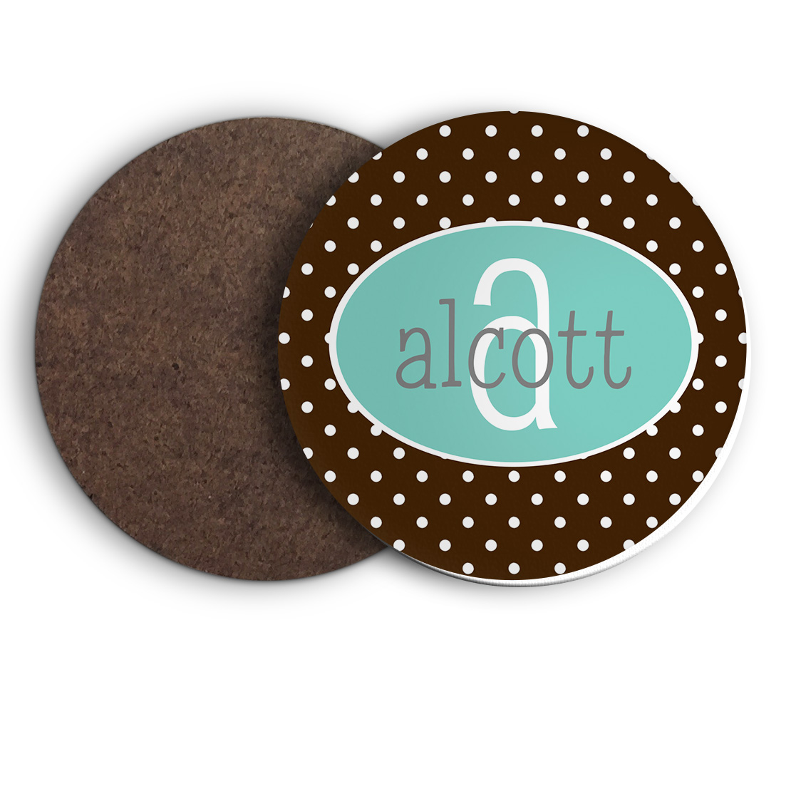 Personalized Coasters Monogrammed Coasters Custom