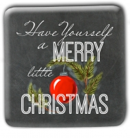 Merry Little Christmas Magnets