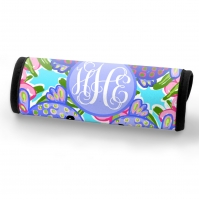 Swimmin and Kissin Fish Personalized Luggage Handle Wrap