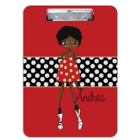 Andrea Monogrammed Clipboard