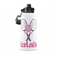 Tennis Personalized Water Bottle
