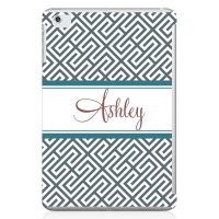 Retro Monogrammed iPad 2 Case