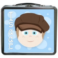 Little Me {metal} Boys Personalized Lunchbox - Design Your Own Isac