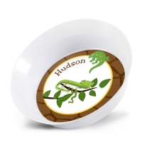 Cool Reptiles Personalized Melamine Bowl