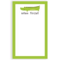 Crocodile Personalized Kids Notepad