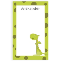 Dragon Personalized Kids Notepad