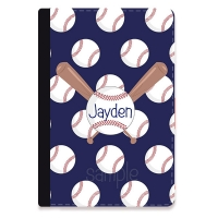 Baseball Personalized iPad Mini Folio Case