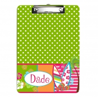 Surfer Girl Personalized Clipboard