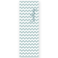 Chevron Personalized Yoga Mat