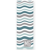 Waves Personalized Yoga Mat