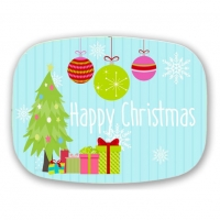 Happy Christmas Personalized Christmas Platter