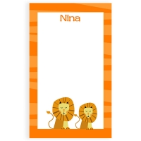 Lion Personalized Notepad