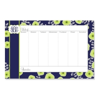 Personalized Weekly Desk Planner