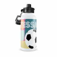 Soccer Girls Personalized Water Bottle
