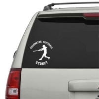 Girls Fastpitch Softball Player Personalized Car, Window, Door or Wall Decal