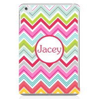 Chevron Fun Personalized iPad Mini Case