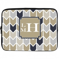 Dakota Monogrammed Laptop or iPad Sleeve
