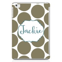 Dots Personalized iPad Mini Case