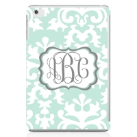 Vintage Damask Monogrammed iPad Mini Case