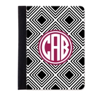 Geometric Personalized iPad Mini Folio Case