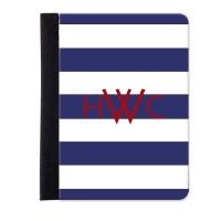 Monogrammed iPad Jacket Stripes Pattern