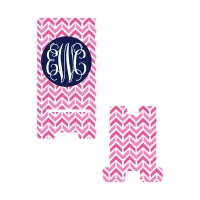 Personalized Pink Aztec Phone Stand