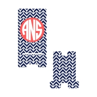 Personalized Navy Aztec Phone Stand