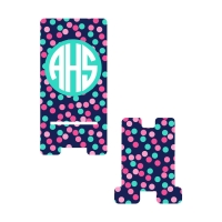 Personalized Confetti Dot Phone Stand