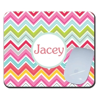 Chevron Fun Personalized Mousepad