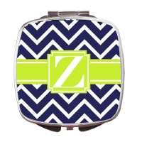 Chevron Compact Mirror