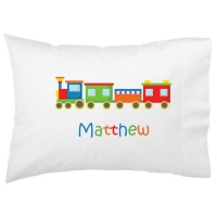 Choo Choo Train Kids Personalized Pillowcase