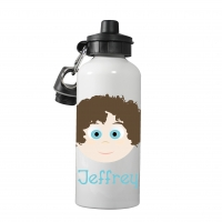 Personalized Boys Water Bottle-Cool Curlz