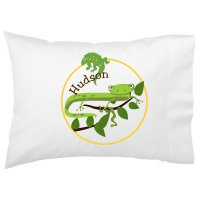 Cool Reptiles Kids Personalized Pillowcase