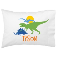 Dinosaurs Kids Personalized Pillowcase