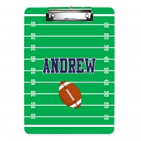 Gridiron Personalized Clipboard. Football Personalized Clipboard