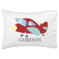 High Flyer Airplane Kids Personalized Pillowcase
