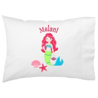 Mermaid Kids Personalized Pillowcase