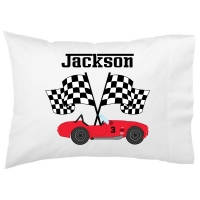 Race Car Kids Personalized Pillowcase