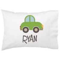 Roadster Kids Personalized Pillowcase