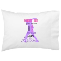 Softball Princess Kids Personalized Pillowcase