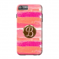 Watercolor Glitter Custom Personalized Phone Case