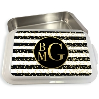 Glam Stripes Cake or Casserole Pan